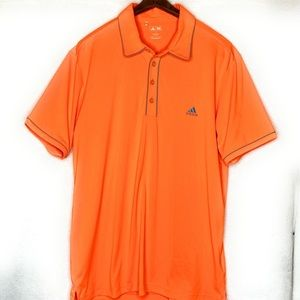 Adidas Golf Neon Orange Shirt